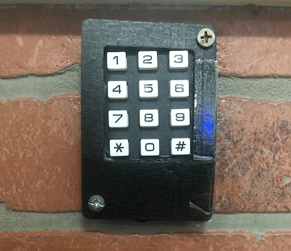Image of a keypad.