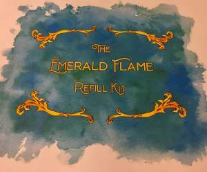 The Emerald Flame Refill Kit.