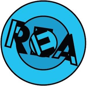 REA blue puzzle logo