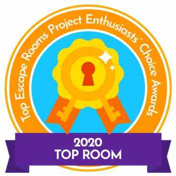 Top Room Escape Project Enthusiasts' Choice Awards 2020 logo.
