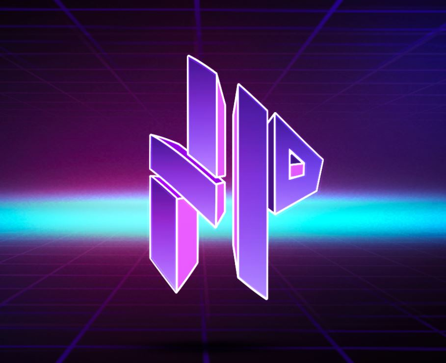 """stylized logo of the letters """"N"""" and """"P"""", logo for the no proscenium website."""