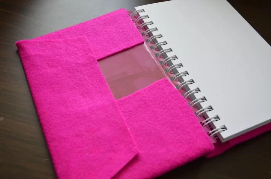 Täcka från filt