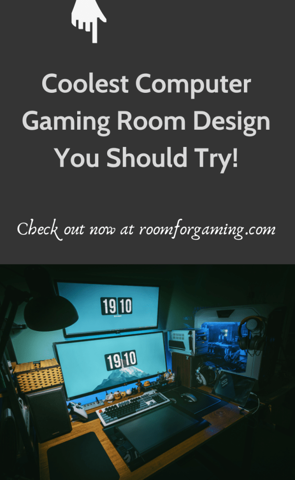 39+ Cool Computer Gaming Room Designs For Every Type of Gamers! (2021) You will have different needs for your room depending on the types of games. For example, to play with the new generation consoles, you need to equip HD technologies and adequate technical support such as a steady Wi-Fi connection, while arcade and pinball machines require space. However, a mobile game only requires the player to effortlessly download games and have a power outlet in case of a dying battery.