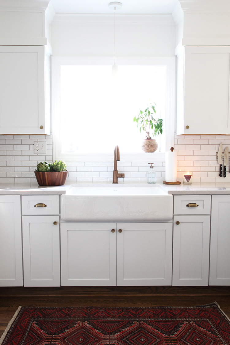 Room for Tuesday | A White Kitchen