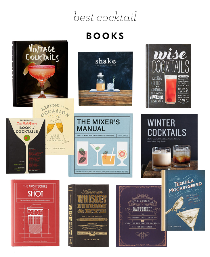 Best Cocktail Books for the Bar