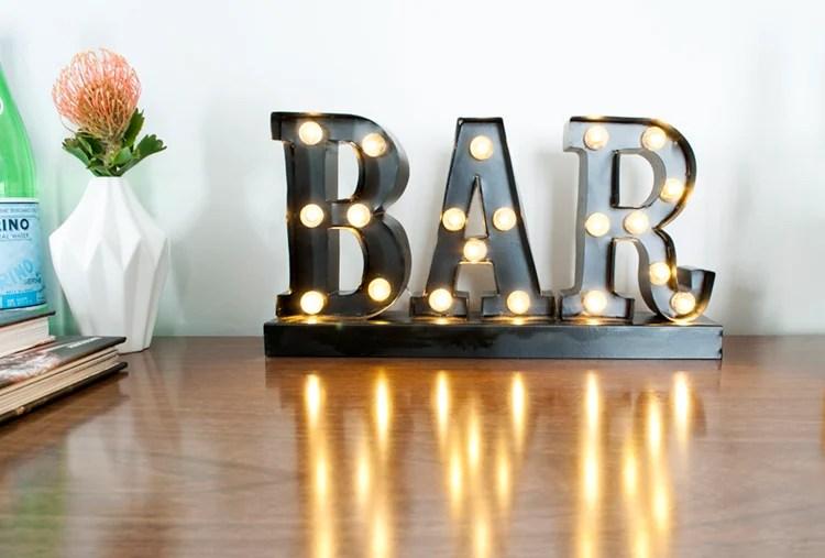 Bar Styled 3 Ways
