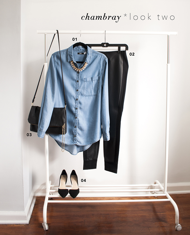 One Piece / Two Ways : Chambray