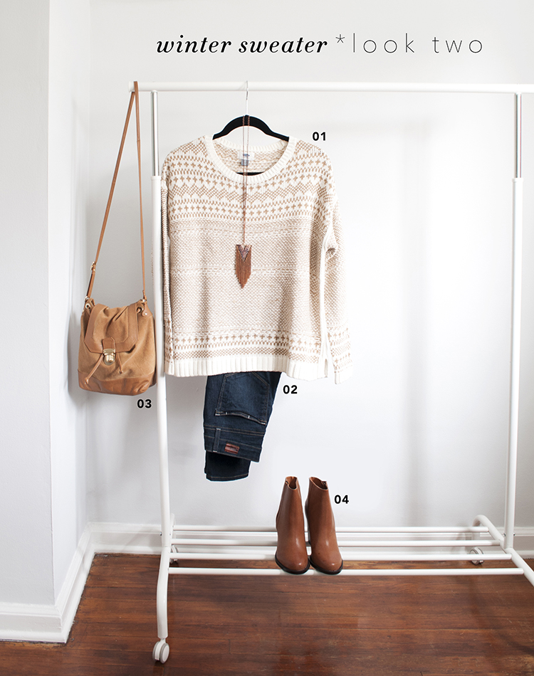 One Piece / Two Ways : Winter Sweater