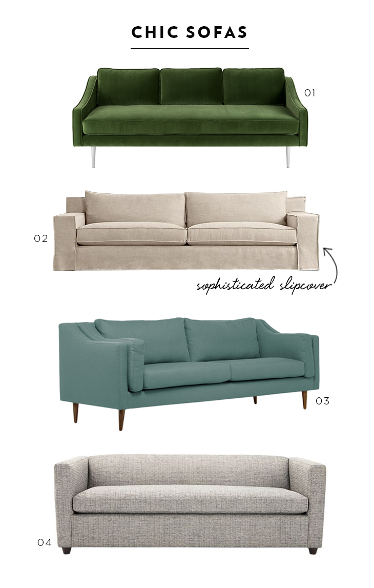 Favorite Chic Sofas