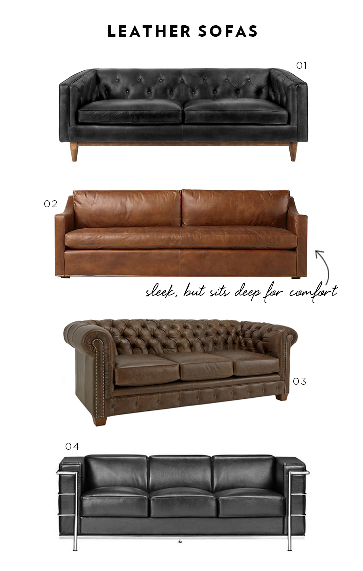 Favorite Leather Sofas