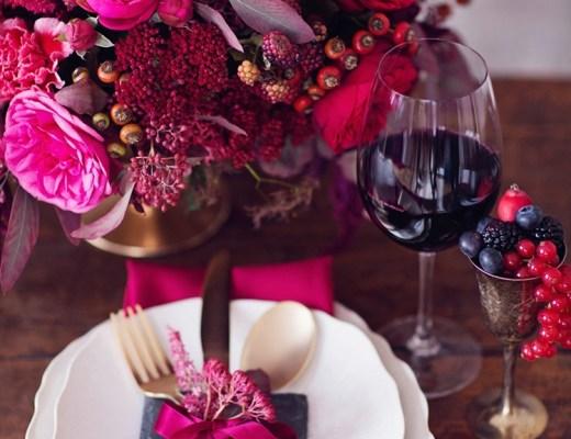 Valentine Table Setting