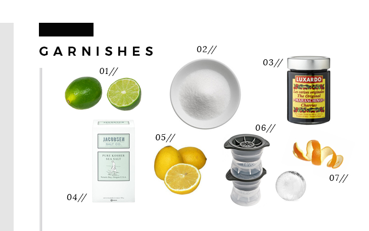 Bar Essentials - Garnishes