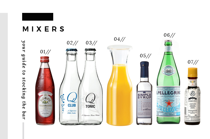 Bar Essentials - Mixers