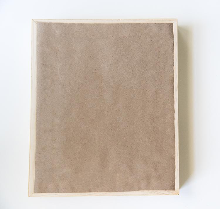 Back of Canvas Frame
