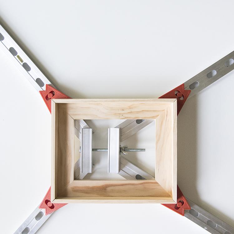 DIY Floating Art Frame