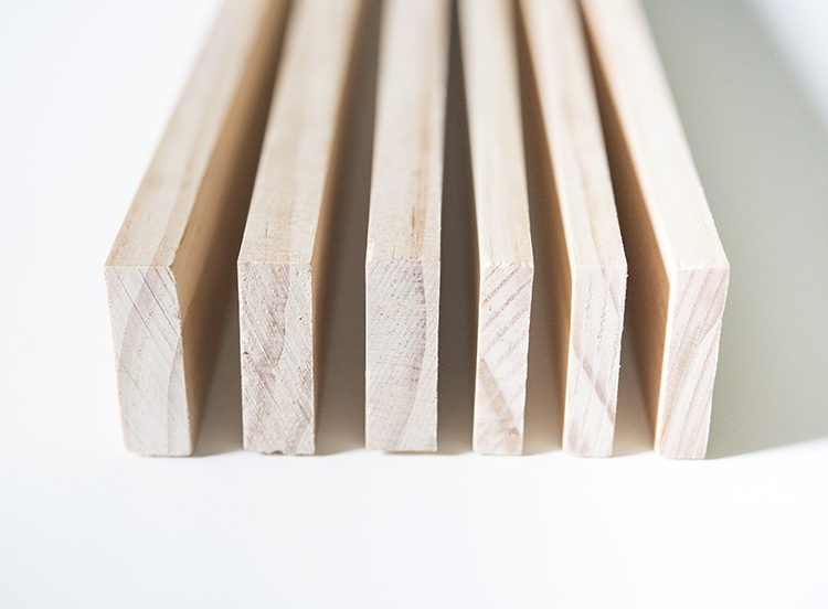 Wood for Custom DIY Frame