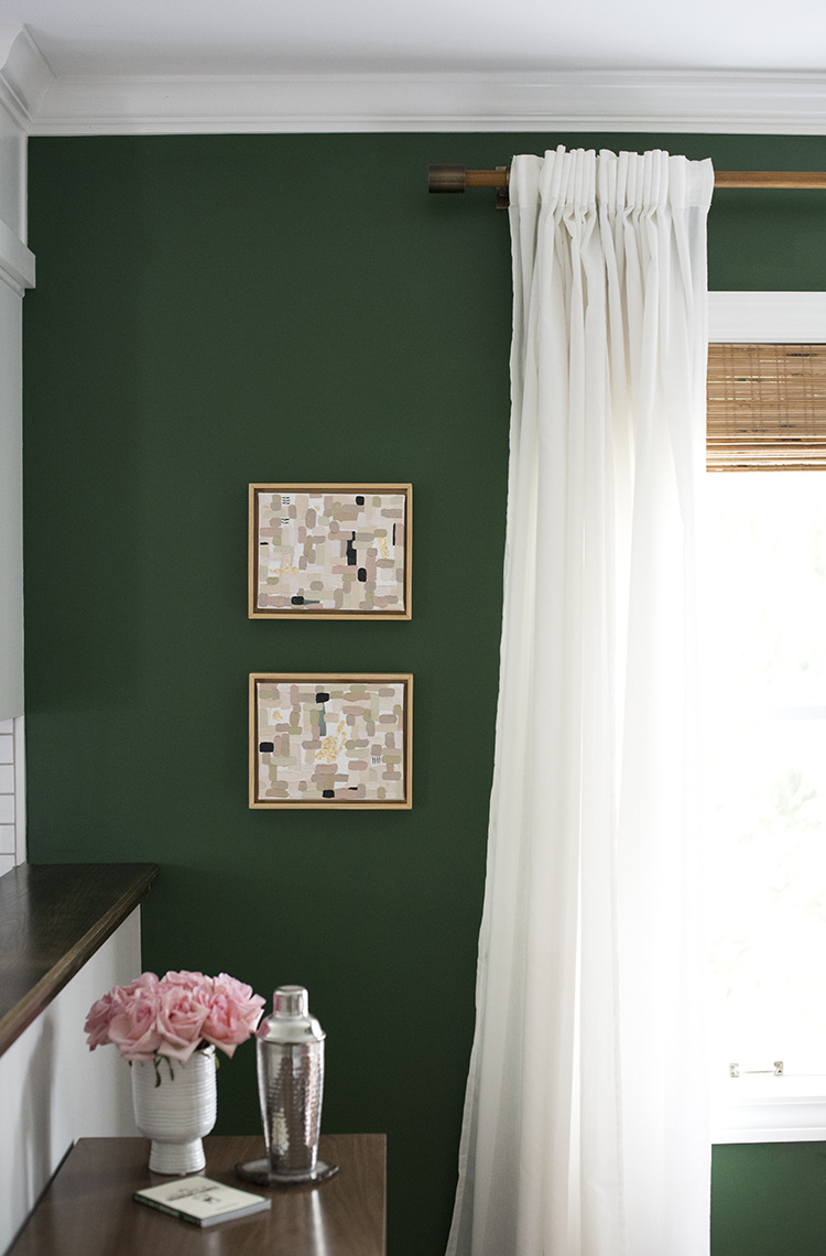 DIY Floating Canvas Frame - Room for Tuesday