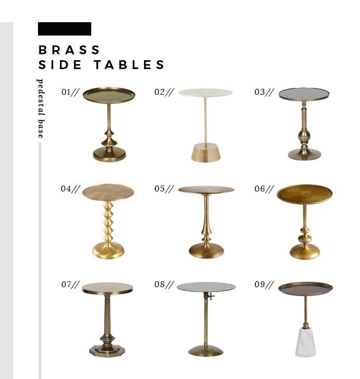 brass-side-tables-pedestal-base