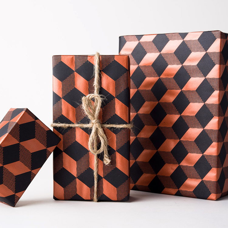 geometric-wrapping-paper