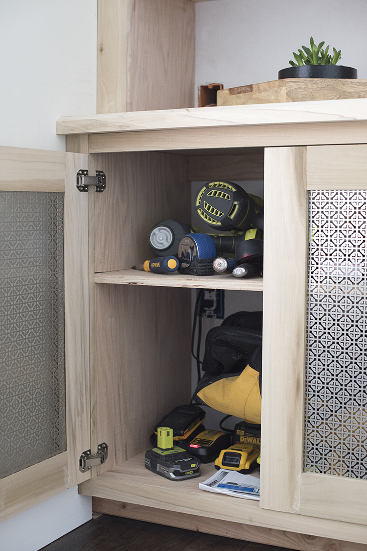 built-in-media-cabinet-process