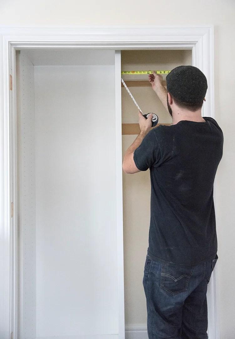 Custom Closet Process