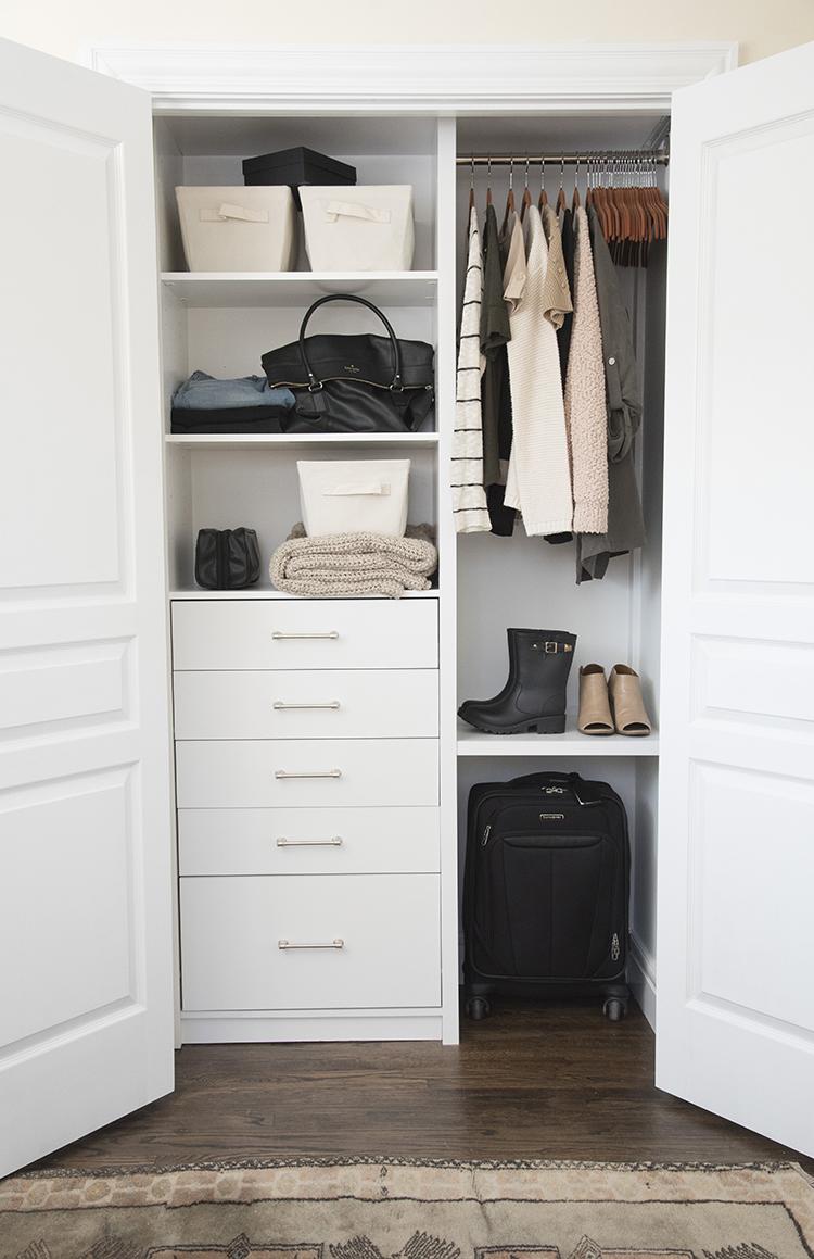 Custom Guest Room Closet