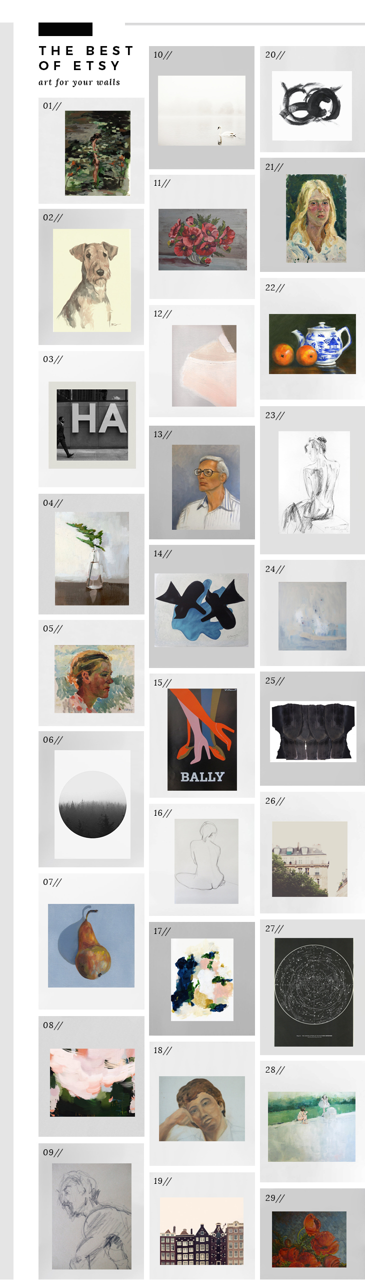 Best of Etsy - Art