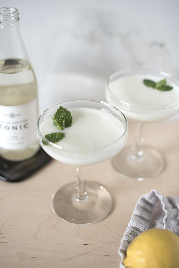 Lemon Mint Coupe