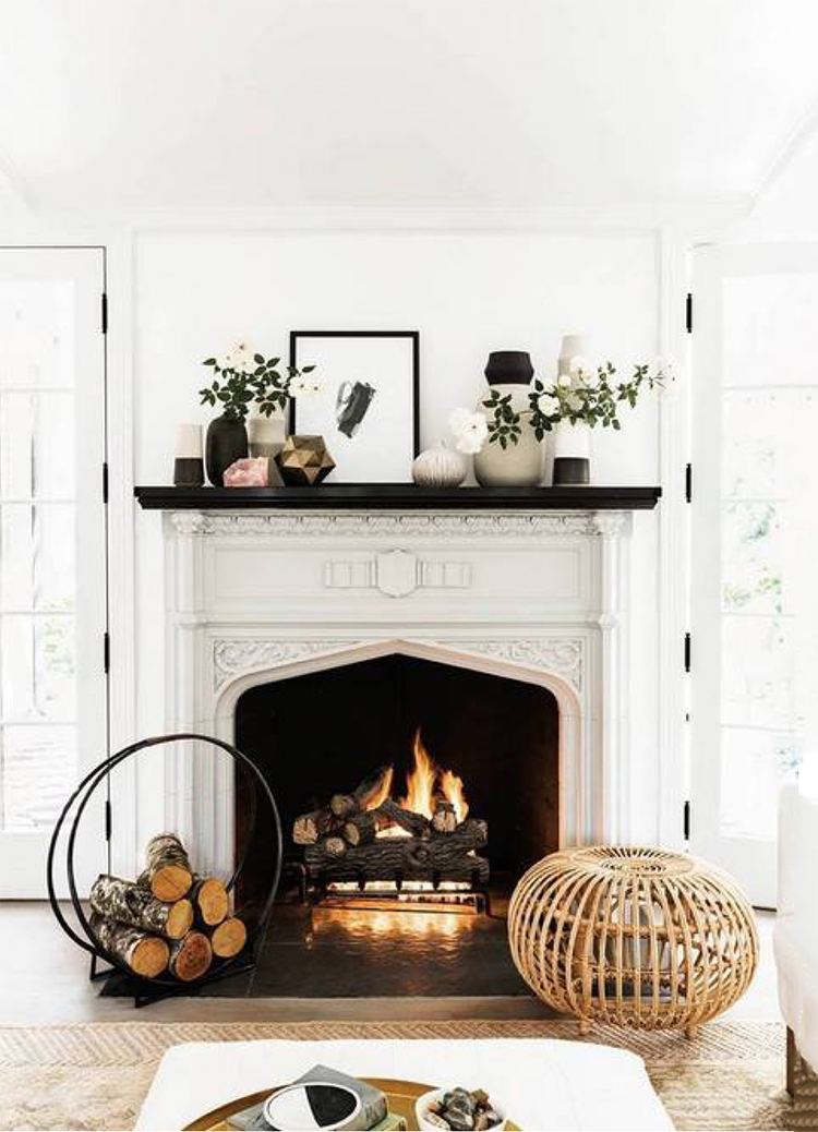A Log Holder For Every Fireplace Room For Tuesday
