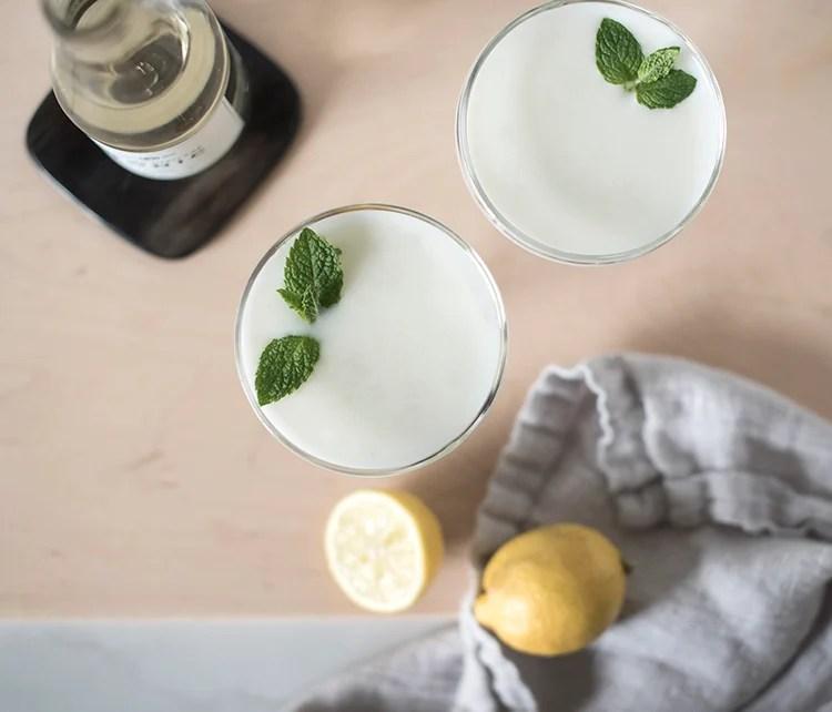 Mint Lemon Cocktail
