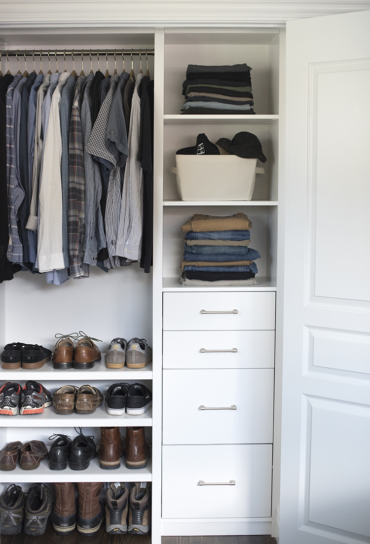 Custom Closet for Him