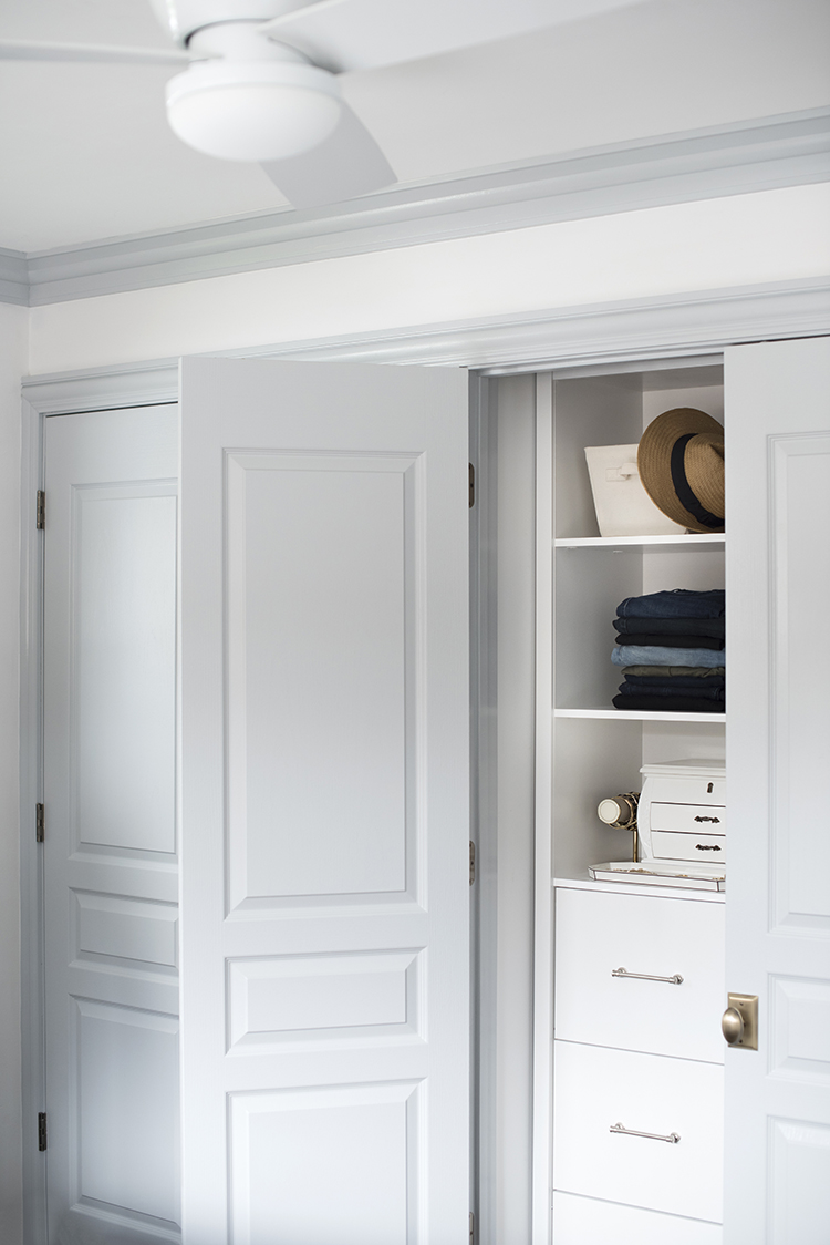 Custom Closets Behind French Doors