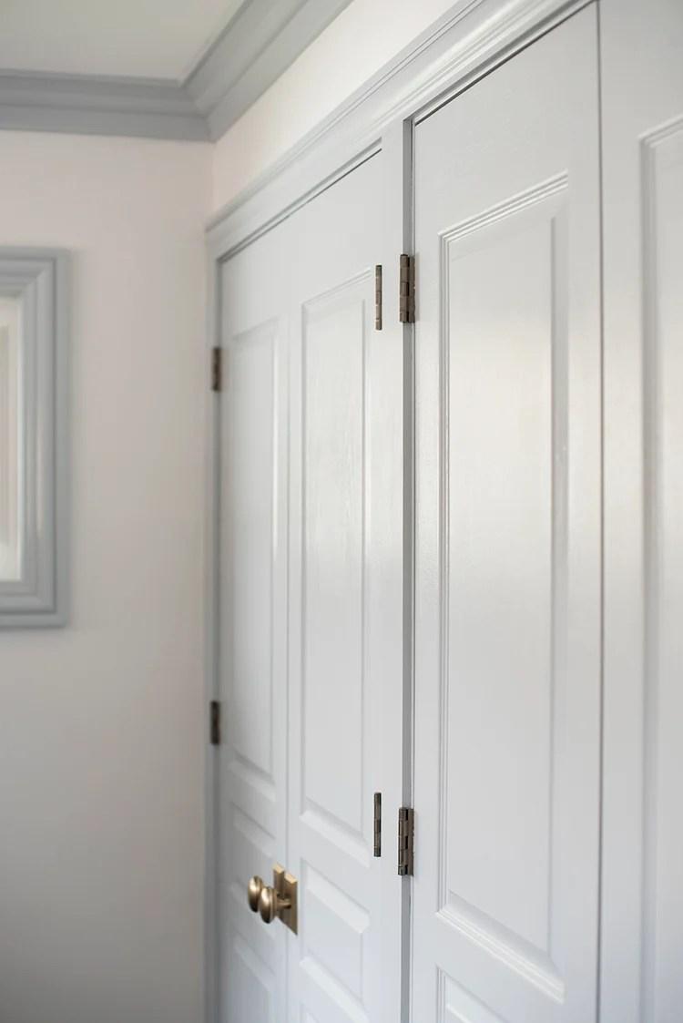 French Doors in Master Bedroom