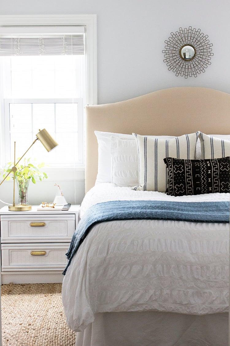 headboards lili headboard linen alessandra lynn l white upholstered bed