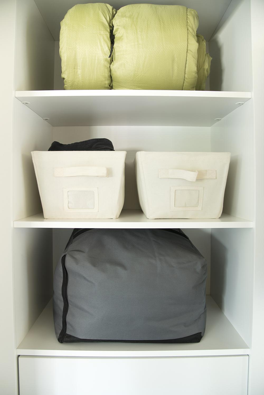 Camping Gear in Closet