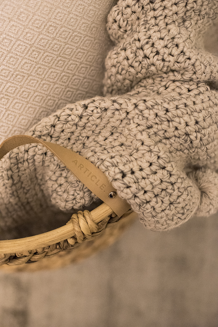 Leather Basket Handles