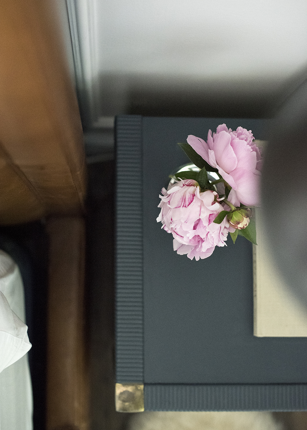 Peonies on Nightstand