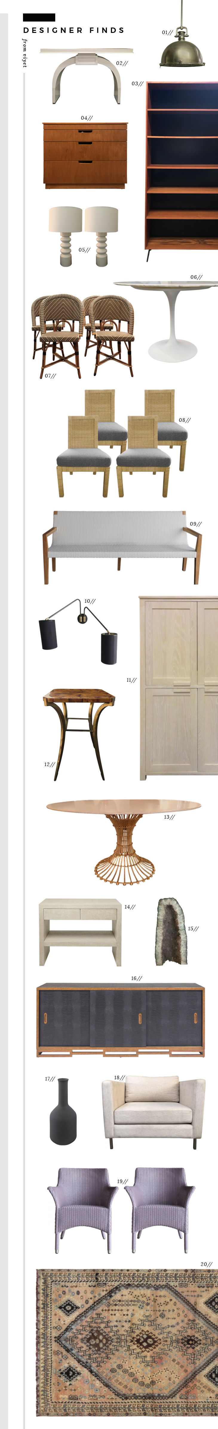 Vintage and Designer Furniture