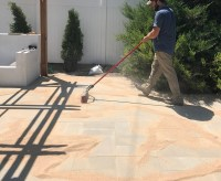 Painting Patio Pavers - Defendbigbird.com