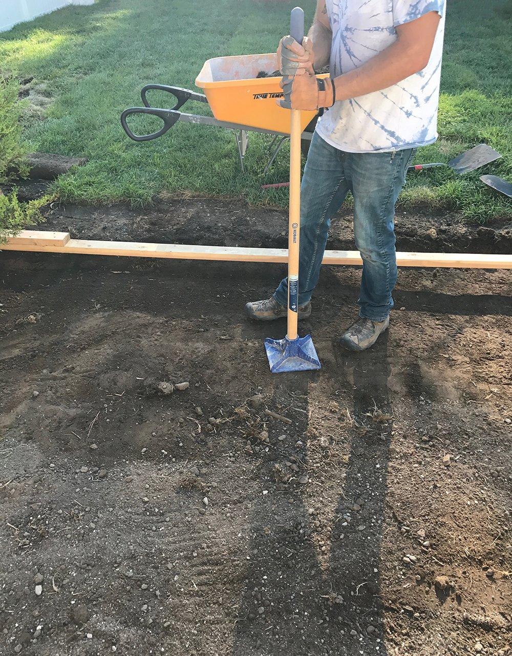 Tamping Dirt