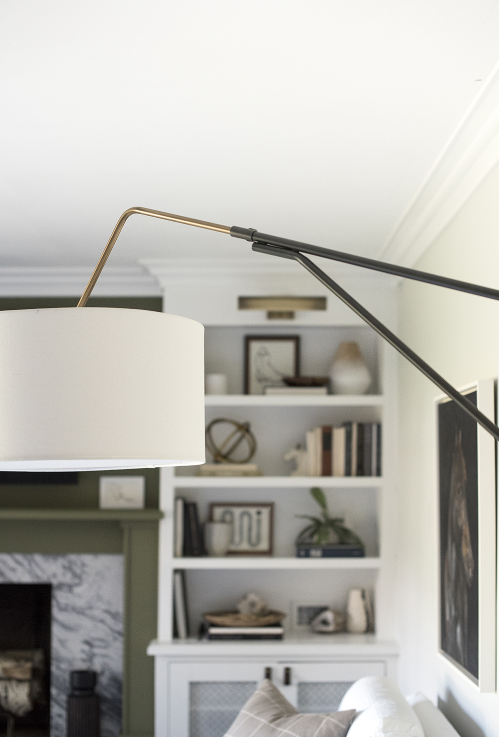 Hinge Arm Wall Sconce