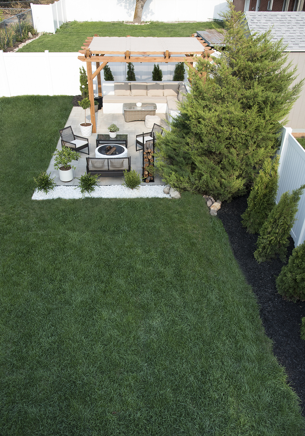 Landscaping from Above