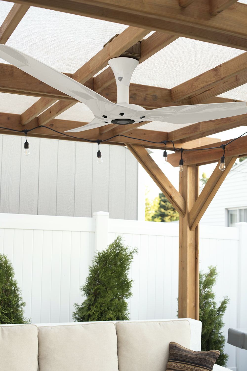 Our Outdoor Fan- roomfortuesday.com