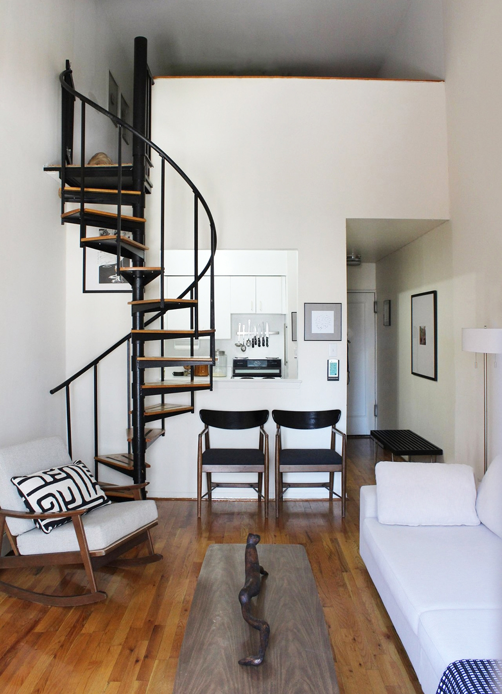 Space Saving Staircases Room For Tuesday Blog | Stairs For Small Spaces | Modern | Living Room | Beautiful | Design | Metal
