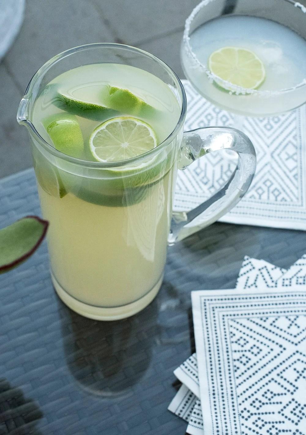 Summer Pitcher Margaritas