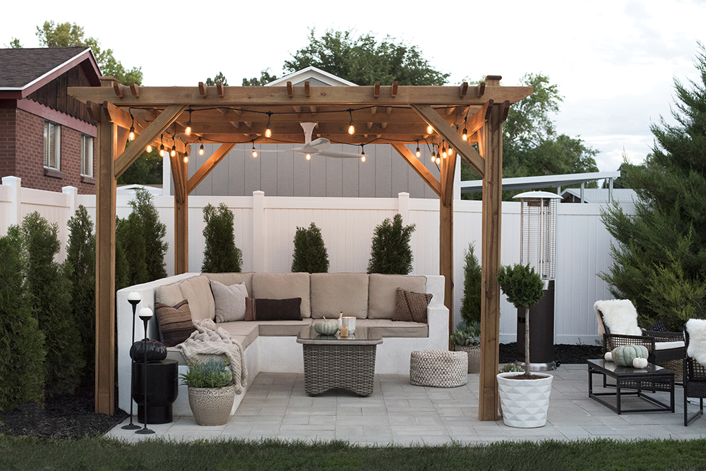 Fall Backyard Makeover