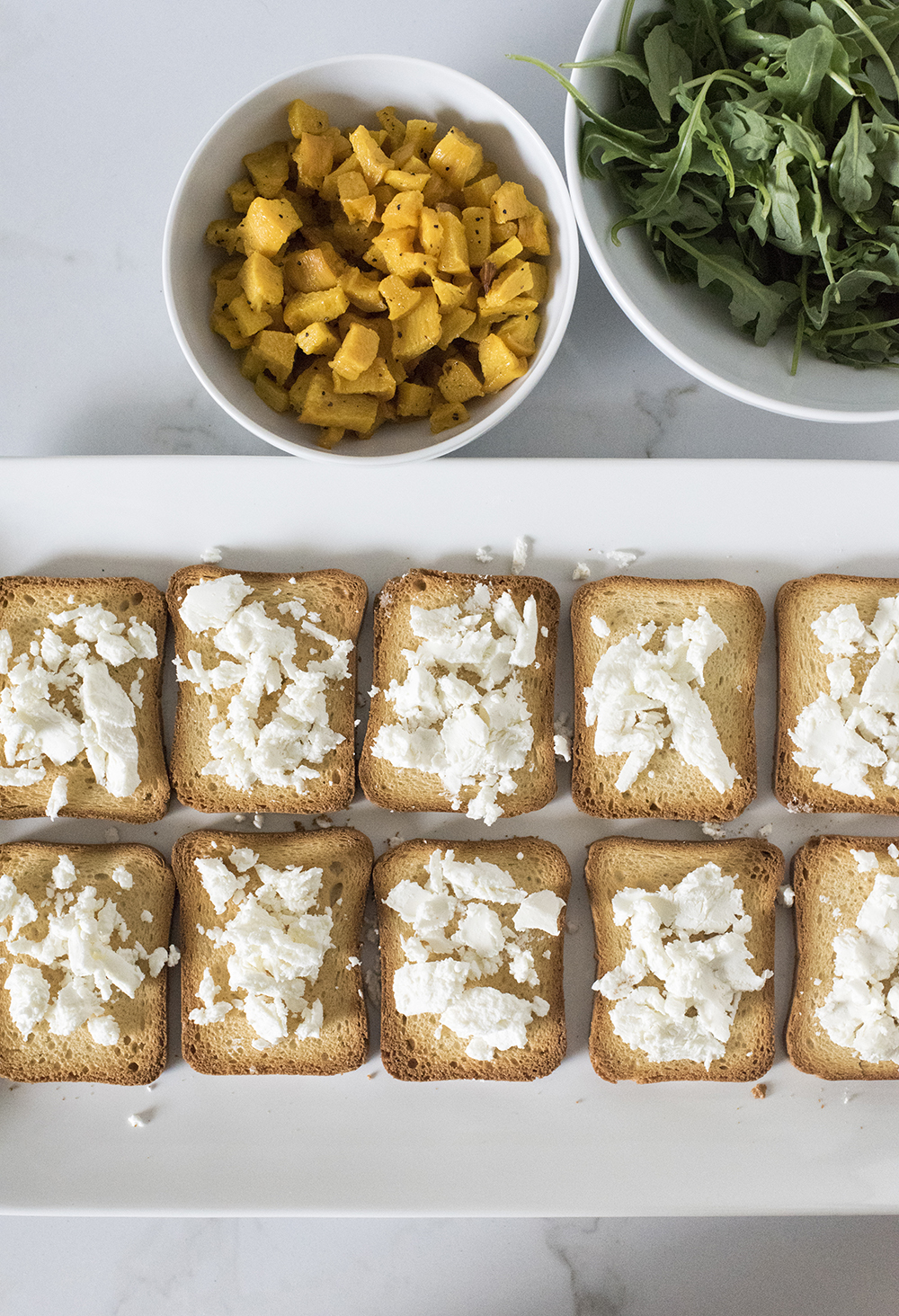 Goat Cheese On Toast