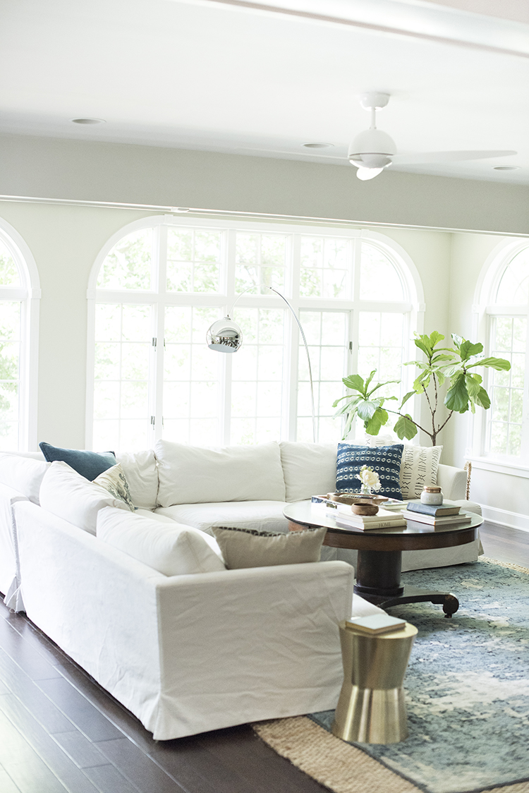 White Sofa Living Room