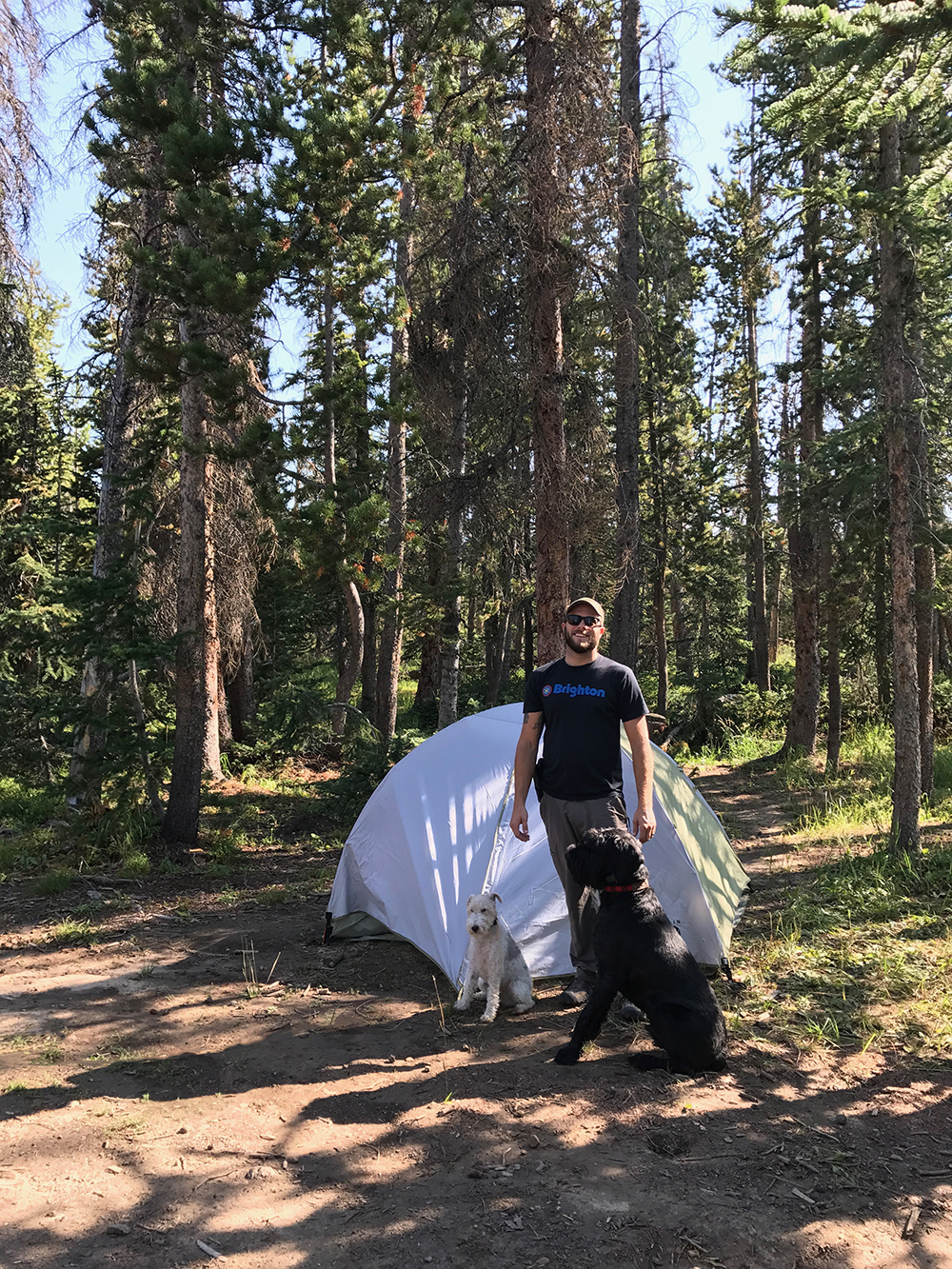 gibson camping trip
