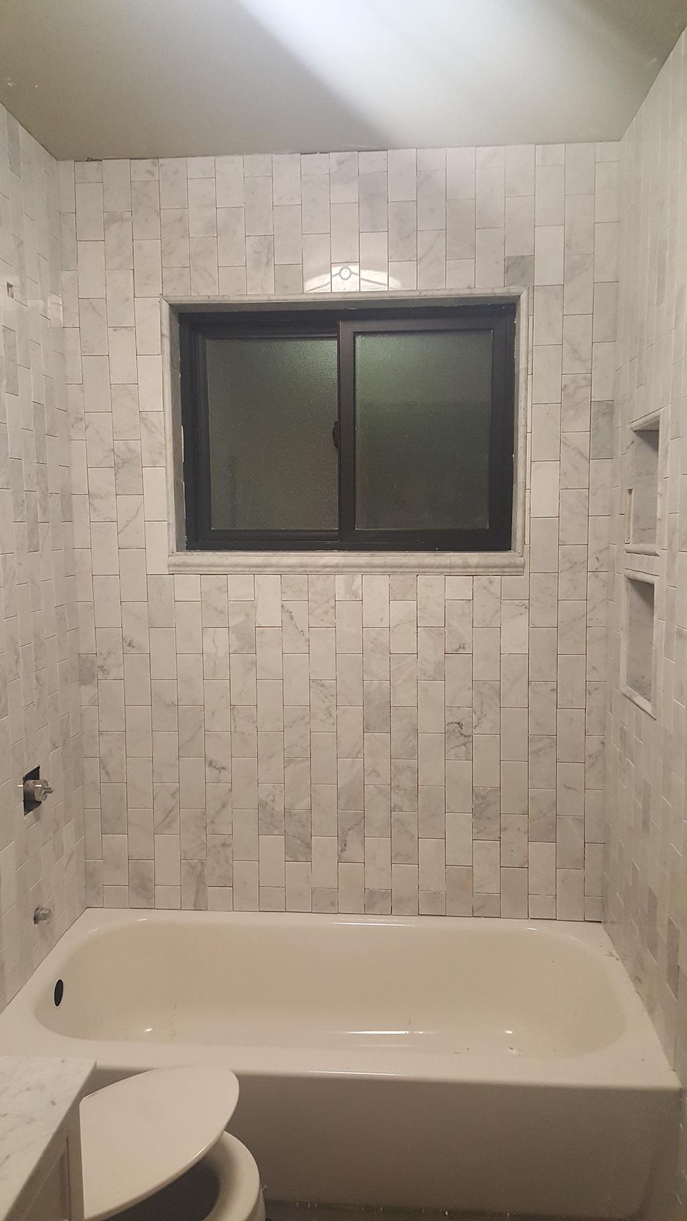 Marble Tile in Progress
